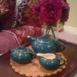 💢RARE FIND💢Complete Art Deco Tea Set